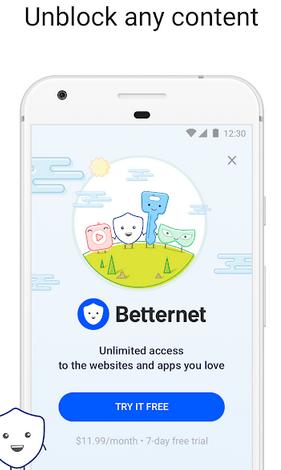 Betternet Premium