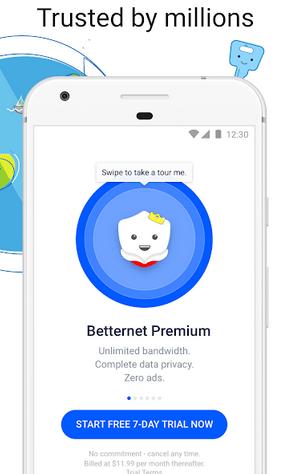 Betternet Mod Apk