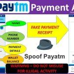 Fake Paytm Apk