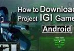 Project IGI game download for android