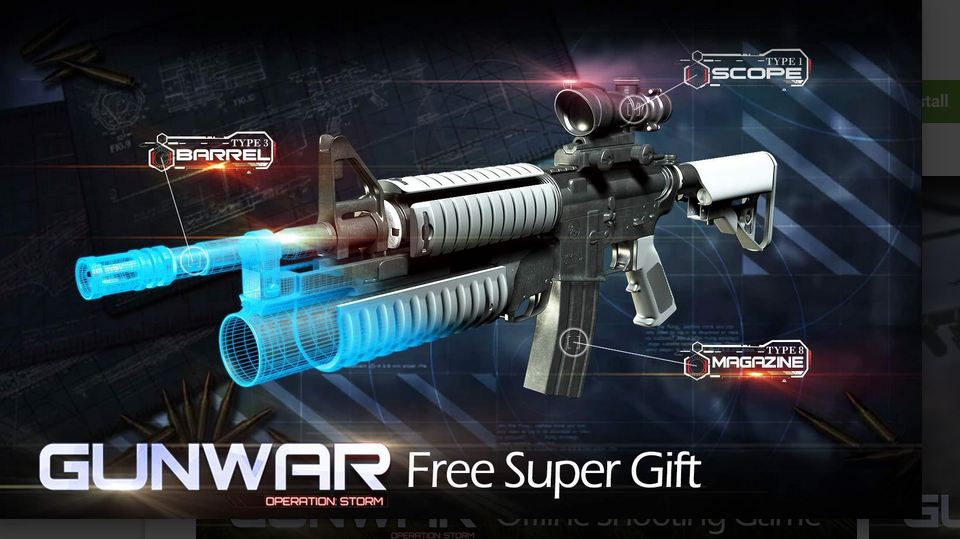 Gun War Shooting Games Mod Apk